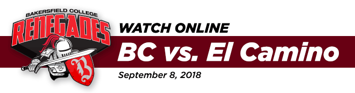 WATCH ONLINE - Bakersfield College vs El Camino