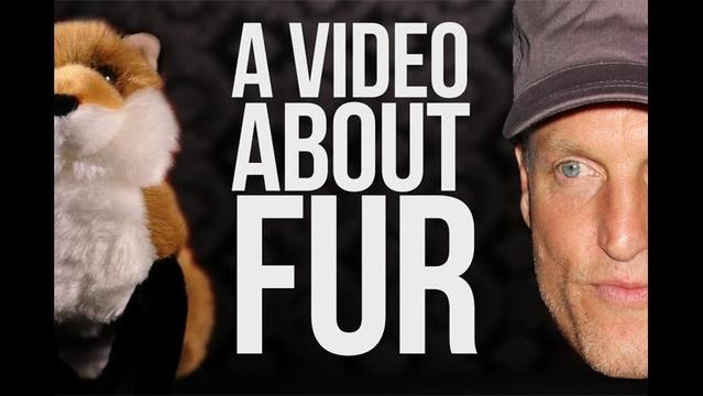 Woody Harrelson asks, 'Do we need to wear fur?'