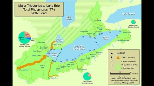 Study: Ambitious pollution targets needed to protect Lake Erie from massive 'dead zone'