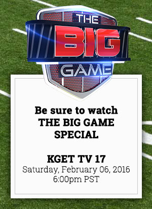 Watch The Big Game Special on KGET