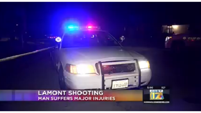 Man with 'life threatening injuries' in Lamont shooting