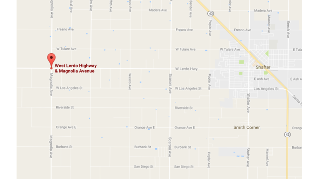 Wasco State Prison van involved in crash west of Shafter