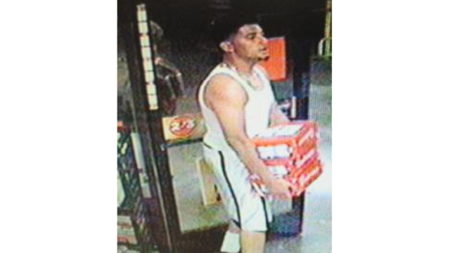 BPD: Searching for suspect that stole several cases of beer