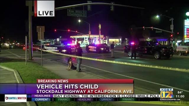 Girl hit by car still in critical condition