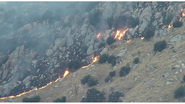 Highway Fire grows to more than 1,500 acres, 10% contained
