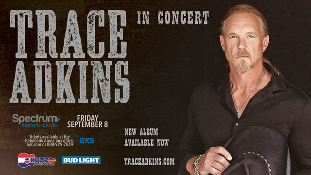Enter to win 2 tickets to see Trace Adkins in concert!