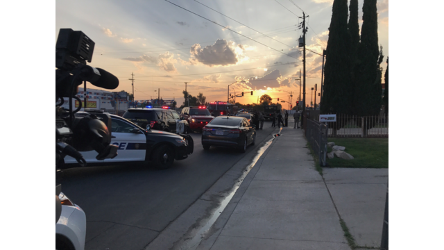 Two police officers shot in Bakersfield, suspect killed