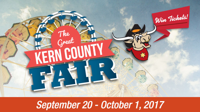 Enter for your chance to win 4 tickets to the Kern County Fair