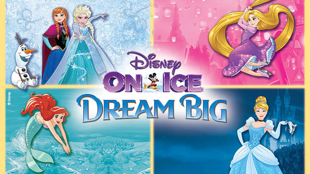 Enter to win a 4 pack of tickets to Disney On Ice