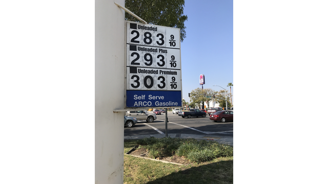 California's Gas Tax Increases Wednesday