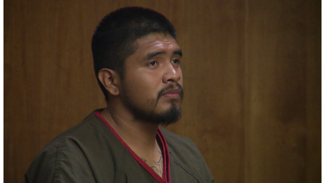 Man accused of firing at KCSO car enters plea in court
