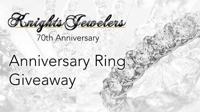 Enter to win a $2,000 anniversary ring!