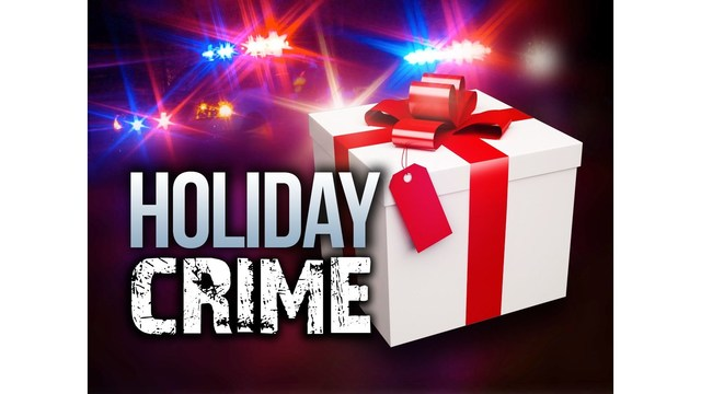 Police: Stay clear from crime this holiday season