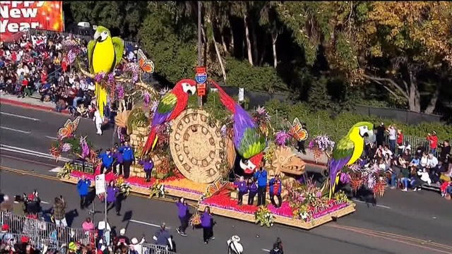 Rose Parade float honoring Bakersfield man wins Theme Award