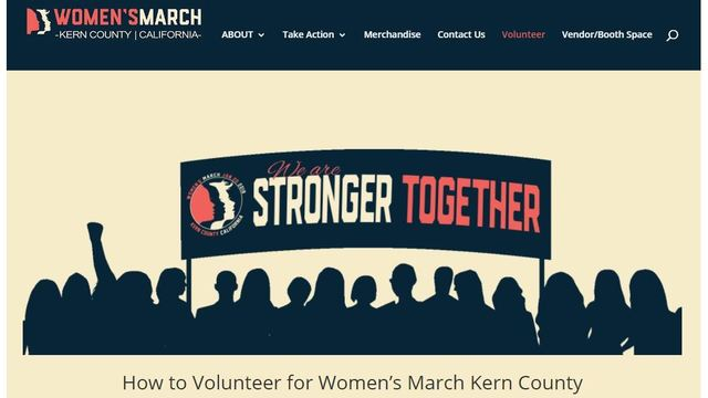 Kern's County Women's March organizers call for volunteers