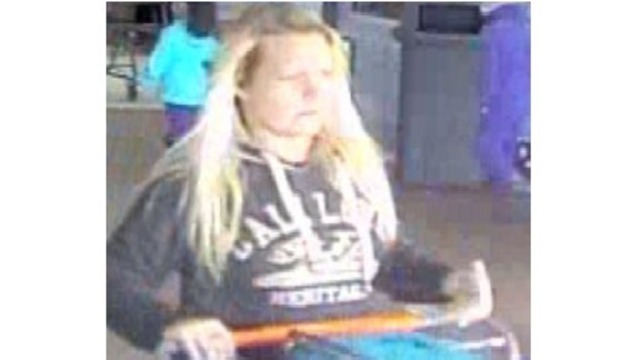 Suspect wanted for charging $1,600 using stolen credit card at Walmart