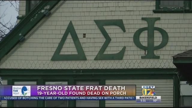 Police investigating death at Fresno State fraternity house