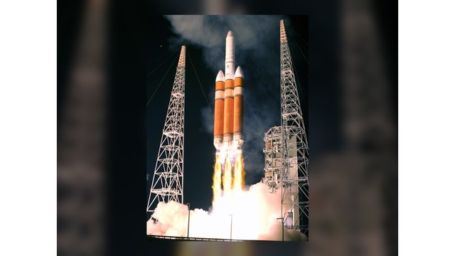 Vandenberg AFB launching Delta IV rocket
