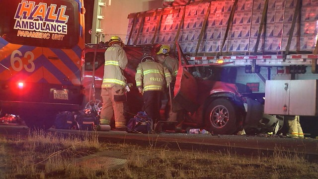 CHP release additional details in morning crash on Panama and Enos Lanes