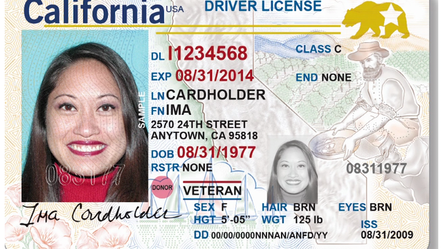 California DMV begins offering Real ID driver's license applications
