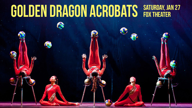 Enter to win tickets to see the Golden Dragon Acrobats