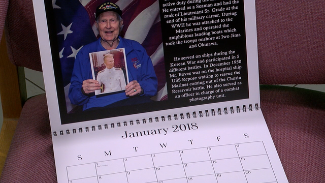 Photographer creates, sells out calendar featuring local veterans