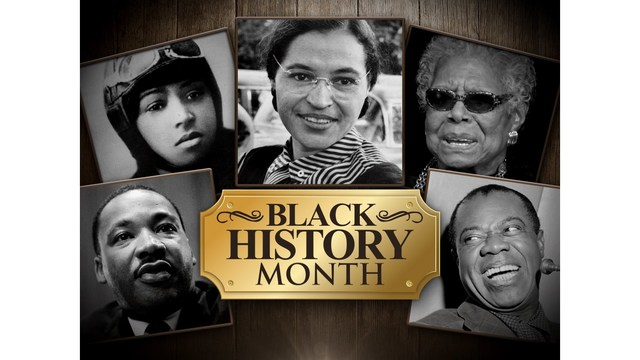 Lawton High students celebrate Black History Month