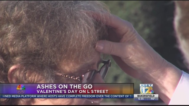 Church offers ashes to go on Ash Wednesday