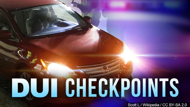 3 arrested in DUI checkpoint in NW Bakersfield