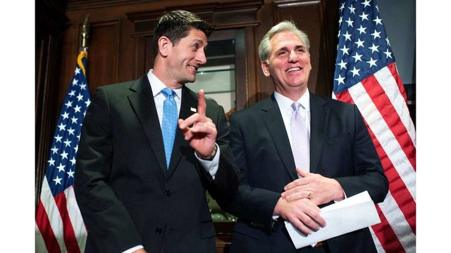 Ryan says Scalise backs McCarthy as next House speaker