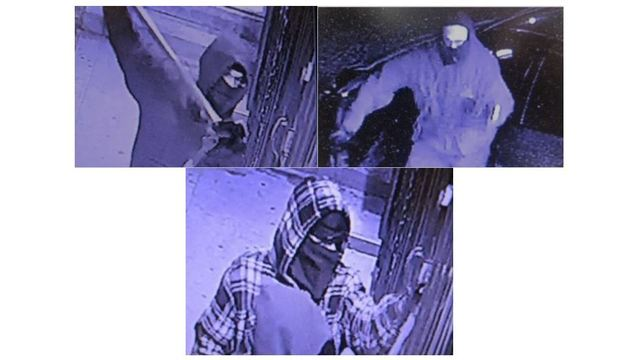Police search for 3 suspected in multiple burglaries