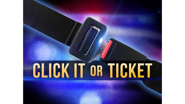 Click It or Ticket campaign promises 'zero tolerance' for those ignoring seat belt laws